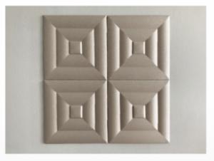 3D falpanel telepítése - falra illesztés egymás mellé