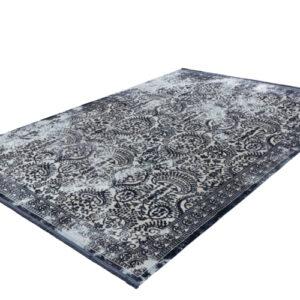 Elysee 900 kék-ezüst színű modern szőnyeg - neofloorshop.hu