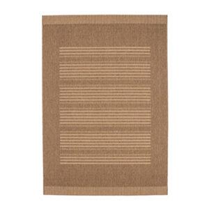 Finca 501 kávébarna színű modern szőnyeg