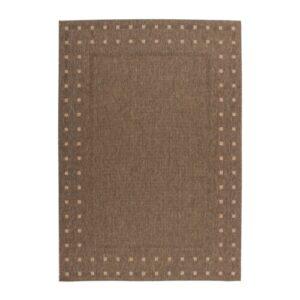 Finca 520 kávébarna színű modern szőnyeg