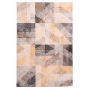 Delta 315 mustár színű modern szőnyeg - neofloorshop.hu