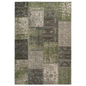 Pacino 990 zöld színű modern szőnyeg - neofloorshop.hu