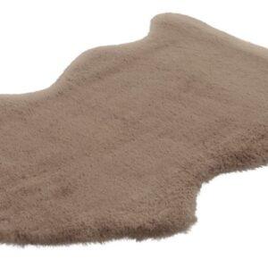 Cosy 500 taupe színű szőrme utánzat szőnyeg - neofloorshop.hu