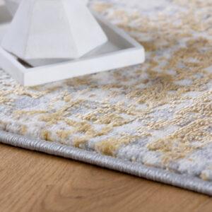 MySalsa 960 mustár színű modern szőnyeg - neofloorshop.hu