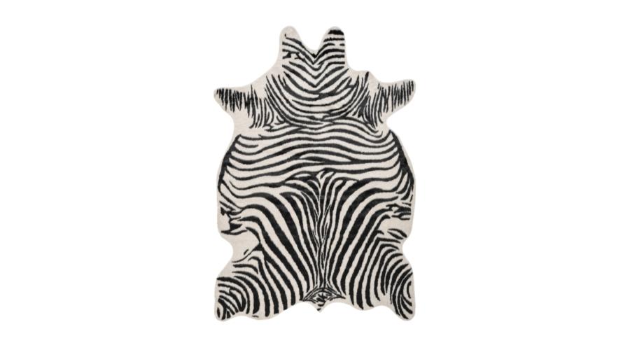 Rodeo 200 zebra mintás szőrme dekor szőnyeg - neofloorsop.hu
