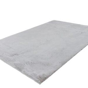 Emotion 500 ezüst színű shaggy süppedős, hosszú szálú szőnyeg
