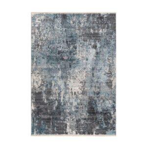 Medellin 400 ezüst-kék színű szőnyeg - neofloorshop.hu