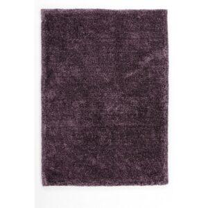MyTOUCH Me aubergine lila színű shaggy süppedős, hosszú szálú szőnyeg
