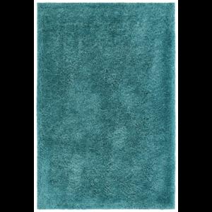 MyTOUCH Me petrol színű shaggy süppedős, hosszú szálú szőnyeg