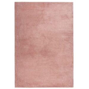 Mamba 500 púder/pink színű shaggy süppedős, hosszú szálú szőnyeg