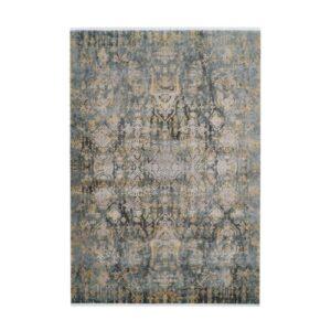 Orsay 700 szürke-sárga, klasszikus mintás szőnyeg Pierre Cardin tervezés - neofloorshop.hu