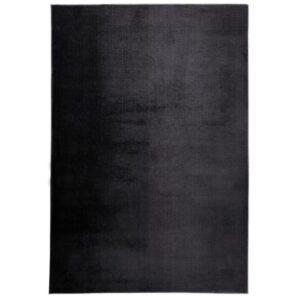 Peri Deluxe 200 grafit színű shaggy süppedős, hosszú szálú szőnyeg