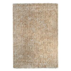 Ravenna bézs színű shaggy süppedős, hosszú szálú szőnyeg