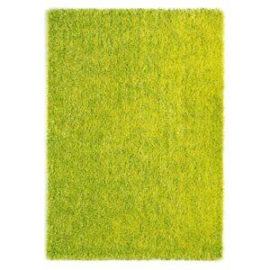 Ravenna zöld színű shaggy süppedős, hosszú szálú szőnyeg