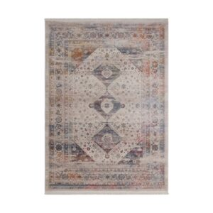 Vintage 703 multi színű, klasszikus mintás szőnyeg - neofloorshop.hu