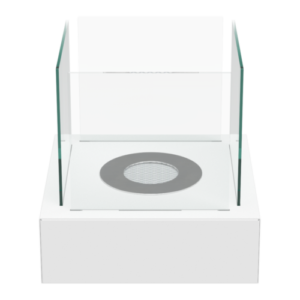 Tango-L fehér színű asztali biokandalló - neofloorshop.hu