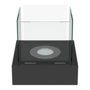 Tango-L fekete színű asztali biokandalló - neofloorshop.hu