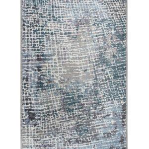Medellin 406 ezüst-kék klasszikus szőnyeg - neofloorshop.hu
