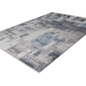 Medellin 407 ezüst-kék klasszikus szőnyeg - neofloorshop.hu