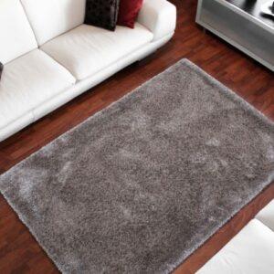 Monaco ezüst színű shaggy süppedős, hosszú szálú szőnyeg