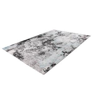 FUNKY 302 kék színű modern mintás szőnyeg - neofloorshop.hu