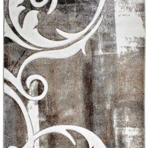ACAPULCO 681 taupe színű modern mintás szőnyeg - neofloorshop.hu