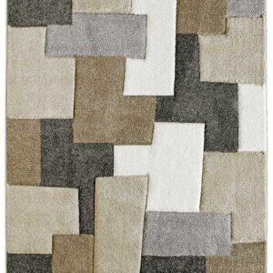 ACAPULCO 683 taupe színű modern mintás szőnyeg - neofloorshop.hu