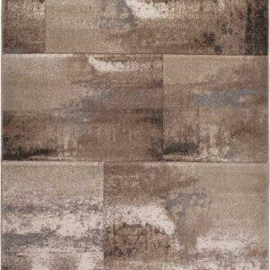 ACAPULCO 686 taupe színű modern mintás szőnyeg - neofloorshop.hu